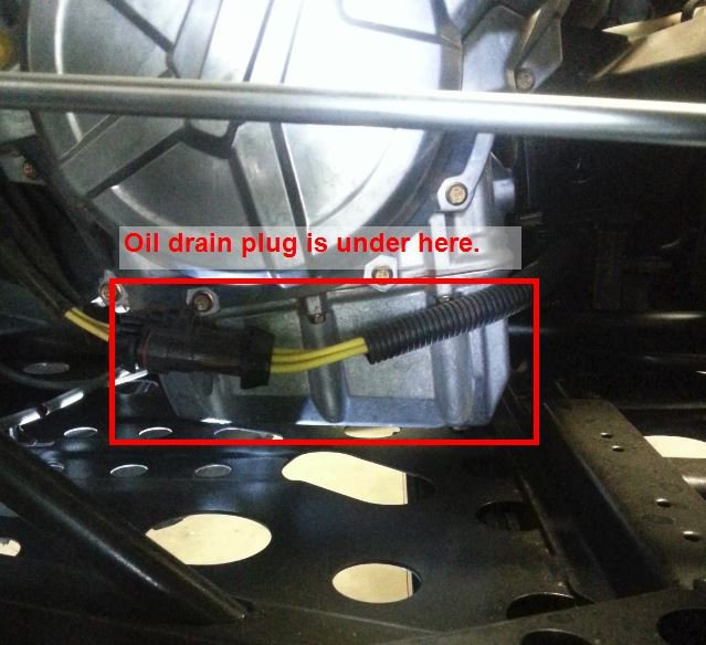 How To Change Transmission Oil >> How to Change the Oil on the 330 ACE
