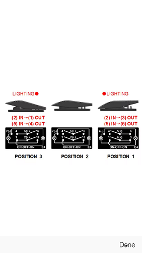 Help Wiring A 7 Pin On Off On Rocker Switch Polaris Ace Forum