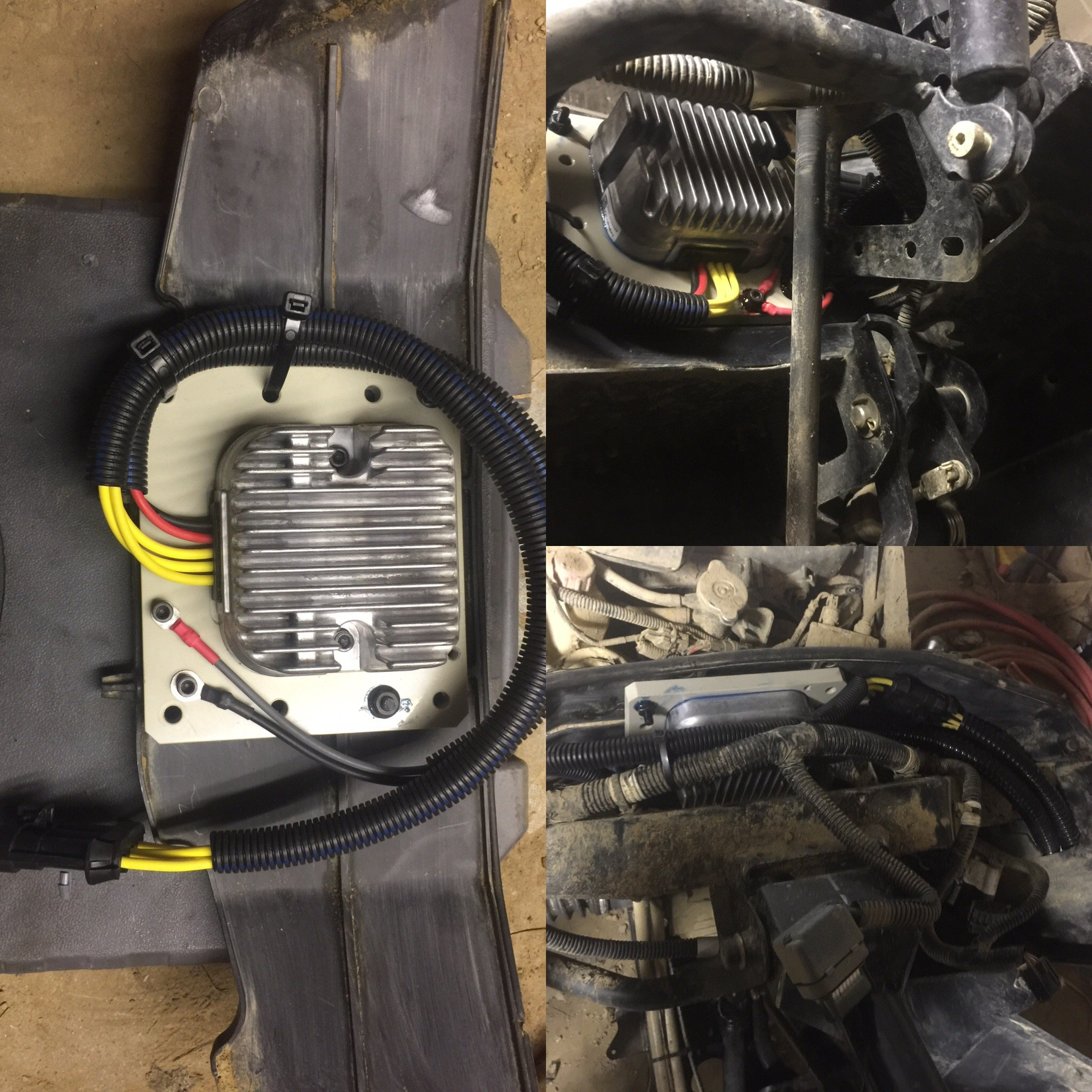 D Voltage Regulator Swap Img on polaris ranger 500 suspension