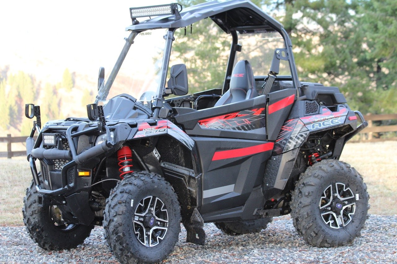 polaris ace 570 full doors