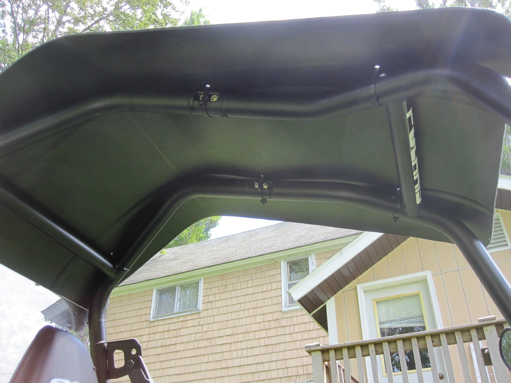 Homemade Roof Amp Back Window