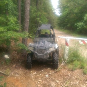 This is why I love my Ace570 so much, in the trails I ride there would be no way to get a rzr
